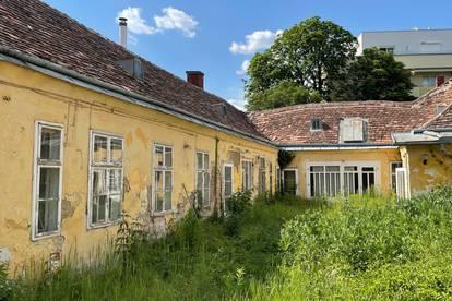 Perfektes Grundstück m. Altbestand Wohnen-Büro-Ordi oder Wohnbauprojekt   2500 Baden Zentrum
