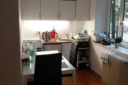 Zentral gelegene 1,5-Zimmer-Wohnung im Stadtteil Riedenburg zu vermieten