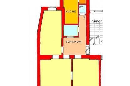 Sanierte 3-Zimmer Altbauwohnung mit Balkon im Stadtzentrum