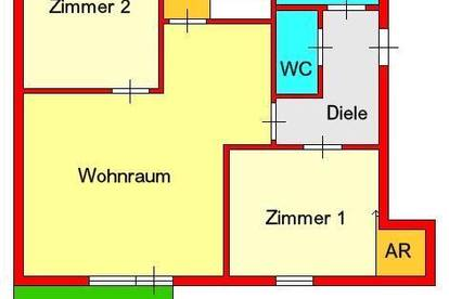 traumhafte 3-Zimmerwohnung mit Balkon und Autostellplatz in Graz-Liebenau bei Murpark