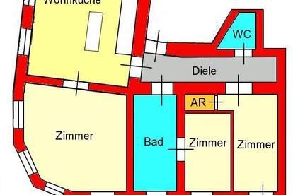 traumhafte Altbauwohnung im Herzen von St. Leonhard - Alberstraße