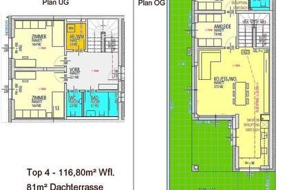 Luxus pur: Penthouse-Maisonette mit 81m² Dachterrasse unweit vom LKH in Graz-Ragnitz