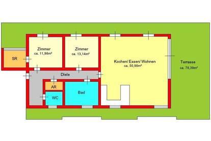 Luxus-Penthouse in Mariatrost mit Terrasse und zwei Stellplätzen - ab 01.01.2022
