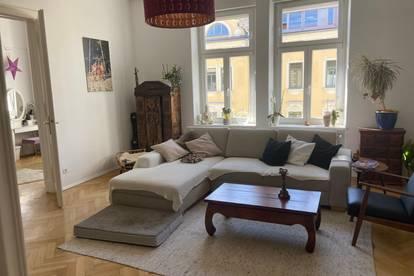 Klagenfurt: Renovierte 150-m2- Altbauwohnung in Traumlage. Provisionsfrei mieten.
