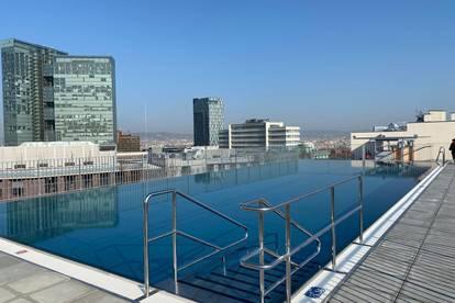 2er WG (70 m² + 11m² Balkon) am Fuße des Wienerbergs mit Dachterasse und Pool