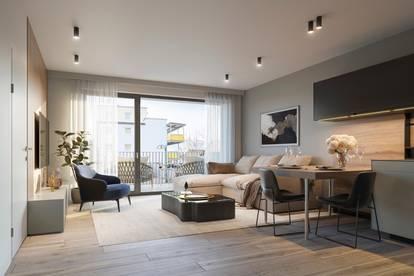 Erstbezug 2-Zimmer Etagenwohnung