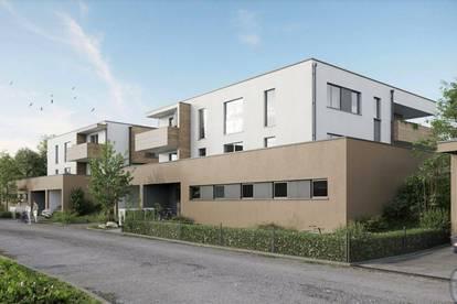 Erstbezug! Singlewohnung mit großem Balkon! Neubauprojekt Seewalchen am Attersee!