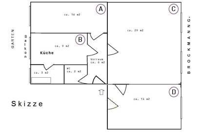 3-Zimmer Wohnung, PROVISIONSFREI, in TU-Graz Nähe, Balkon, Garten