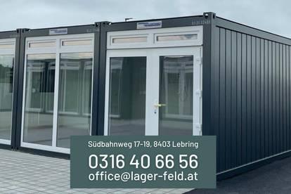 Modernes Büro, Atelier oder Studio im Containerpark Lebring zu vermieten!!