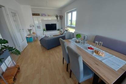 Helle 4 Zimmer Neubauwohnung mit Balkon im Weinviertel