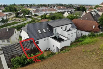 Traumhafte, neue 89m² 4-Zimmerwohnung mit Dachterrasse im Zentrum von Seitenstetten