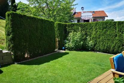 3-Zimmerwohnung vollmöbliert mit Garten inkl. Tiefgaragenabstellplatz