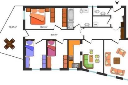 Imst Oberstadt Streleweg: 4 Zimmer Wohnung, Terrasse, 2 AAP, günstig!
