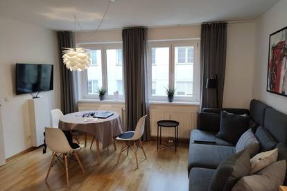 Neu sanierte, ruhige, helle Wohnung in guter Lage! Möbliert! Provisionsfrei!