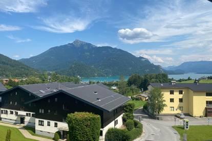 Provisionsfrei in St.Gilgen: Gemütliche, Dachgeschosswohnung mit Wolfgangseeblick (Voll ausgestattet)