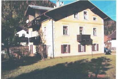 5 Wohnungen in Scharnitz (Bahnhofnähe) mit großem Grundanteil zu verkaufen