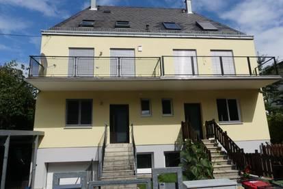 Kürzlich thermisch-sanierte Doppelhaushälfte an einem der schönsten Wohnplätze in Klosterneuburg. Provisionsfrei.