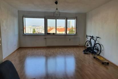 WG-Zimmer mit Schlossbergblick