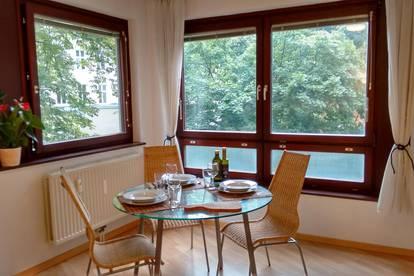 Geräumige, möblierte 1-Zimmer Wohnung für Singles oder Paare im Servitenviertel
