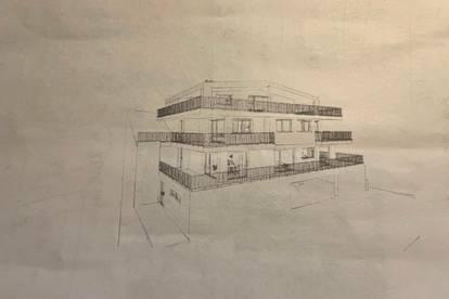 Bauprojekt mit 3 Wohnungen der Extraklasse direkt am Fuschlsee