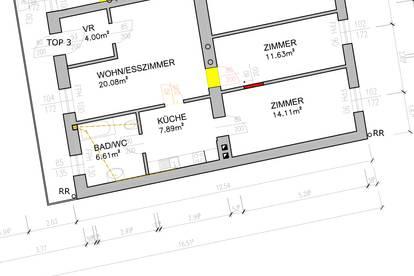 Mietwohnung Fürstenfeld, direkt im Zentrum, 64m², 1. Stock