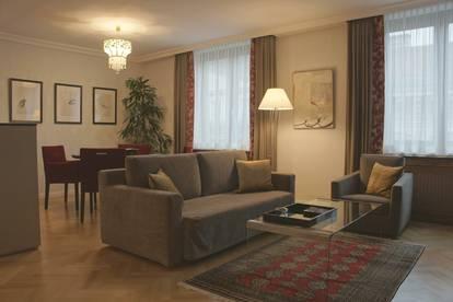 Luxus-Apartment möbliert vis à vis Oper (provisionsfrei)