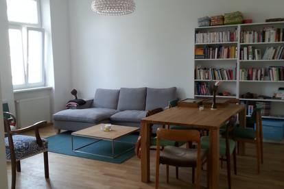 Provisionsfrei möblierte sonnige 69m2 Wohnung