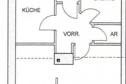 50 m² Mietwohnung (EG) in Neumarkt an der Ybbs - direkt im Ort, 410 EUR inkl. Betriebskosten, beziehbar ab 1.3.2017