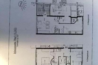Vermiete Maisonette-Wohnung Nähe Südbahnhof
