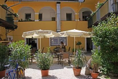 Gasthaus in 9500 Villach Stadtzentrum im renovierten Altbau aus dem 15. Jahrhundert mit Gastgarten