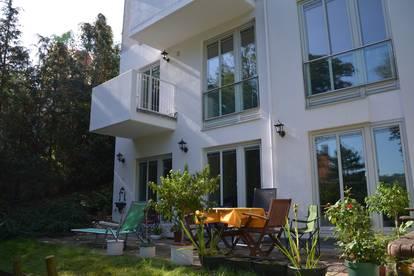 PRIVAT provisionsfrei: charmante Gartenwohnung in Neustift/Walde mit Weingartenblick und Sicherheitskonzept
