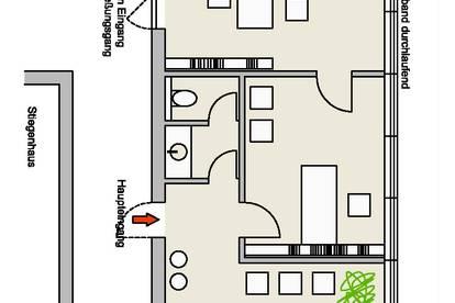 50m² Büroräume - Innere Stadt