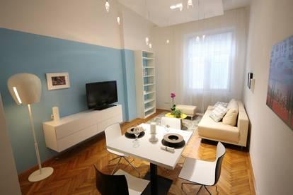 Provisionsfrei: vollmöblierte 2-Zimmerwohung an der Wiener Ringstraße