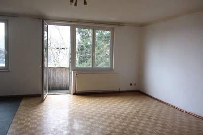 Ruhige 61m² Wohnung mit Balkon, 2 Zimmer, Grünlage