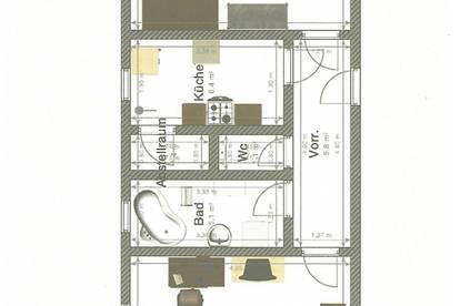 Wg-Zimmer zur Mietung - ca. 340,- warm