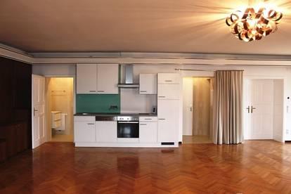 Stilvolle 1-Zimmer-Wohnung mit 87 m² in der schönen Weinstadt Retz zu vergeben!