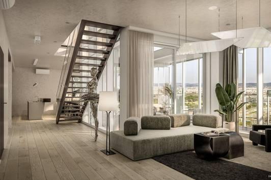 'CITYLIGHTS' Penthouse mit atemberaubendem Blick über Wien