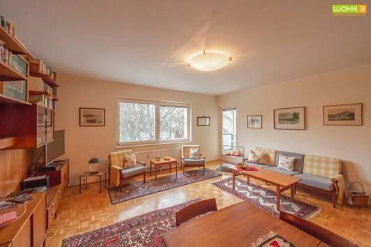 Ober St.Veit: 3-Zimmer-Wohnung mit Balkon und Grünblick