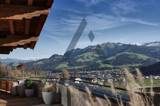 Hochwertig möbliertes Luxus Chalet mit Panoramablick