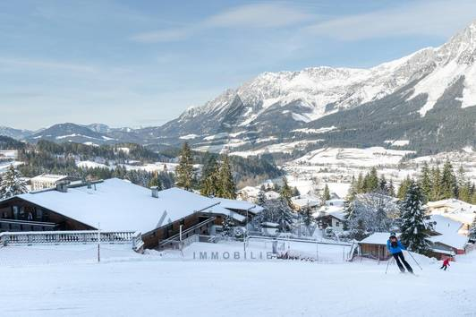 Ski in / Ski out: Wohnung mit Kaiserblick