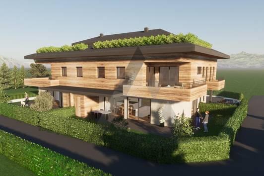 Neue Dachgeschoss Maisonette in ruhiger Sonnenlage
