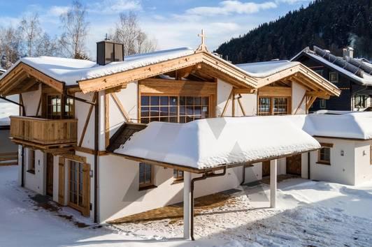 Neubau Chalets in Schwarzsee-Nähe