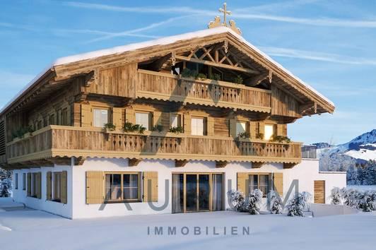 Neubau: Bauernhaus in Ausblickslage und Pistennähe