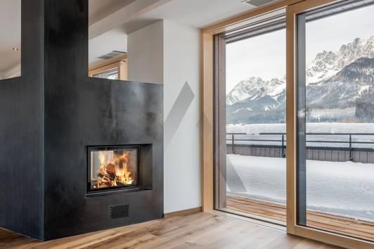 Penthousewohnung: Zentral mit Kaiser- & Hornblick