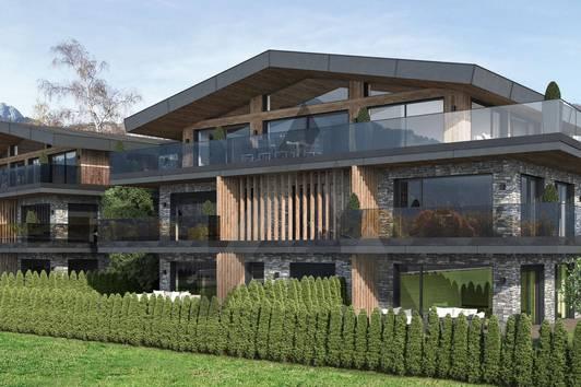 Exklusive Wohnungen mit Kaiser- und Hornblick