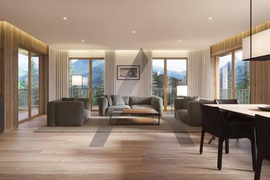 Neubauwohnungen RIVERSIDE in Pistennähe & ruhiger Lage
