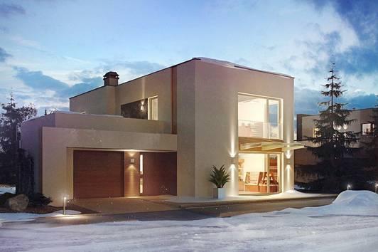 """Haus  """" MIRA,, mit Grundstück Belagsfertig"""