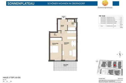 Traumhafte 2 Zimmer Neubauwohnung mit großzügigem Balkon