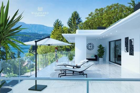 Luxuspenthouse mit traumhaftem Seeblick und privatem Seezugang am Millstätter-See