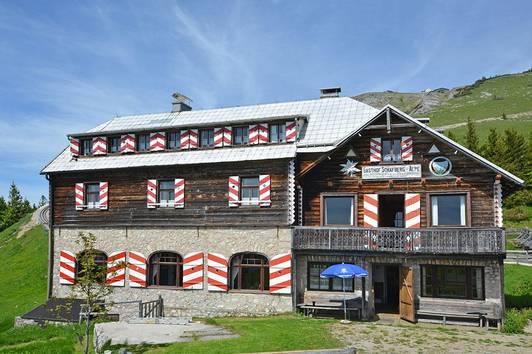 Gasthaus Schafberg - Alpe mit Nebenhaus